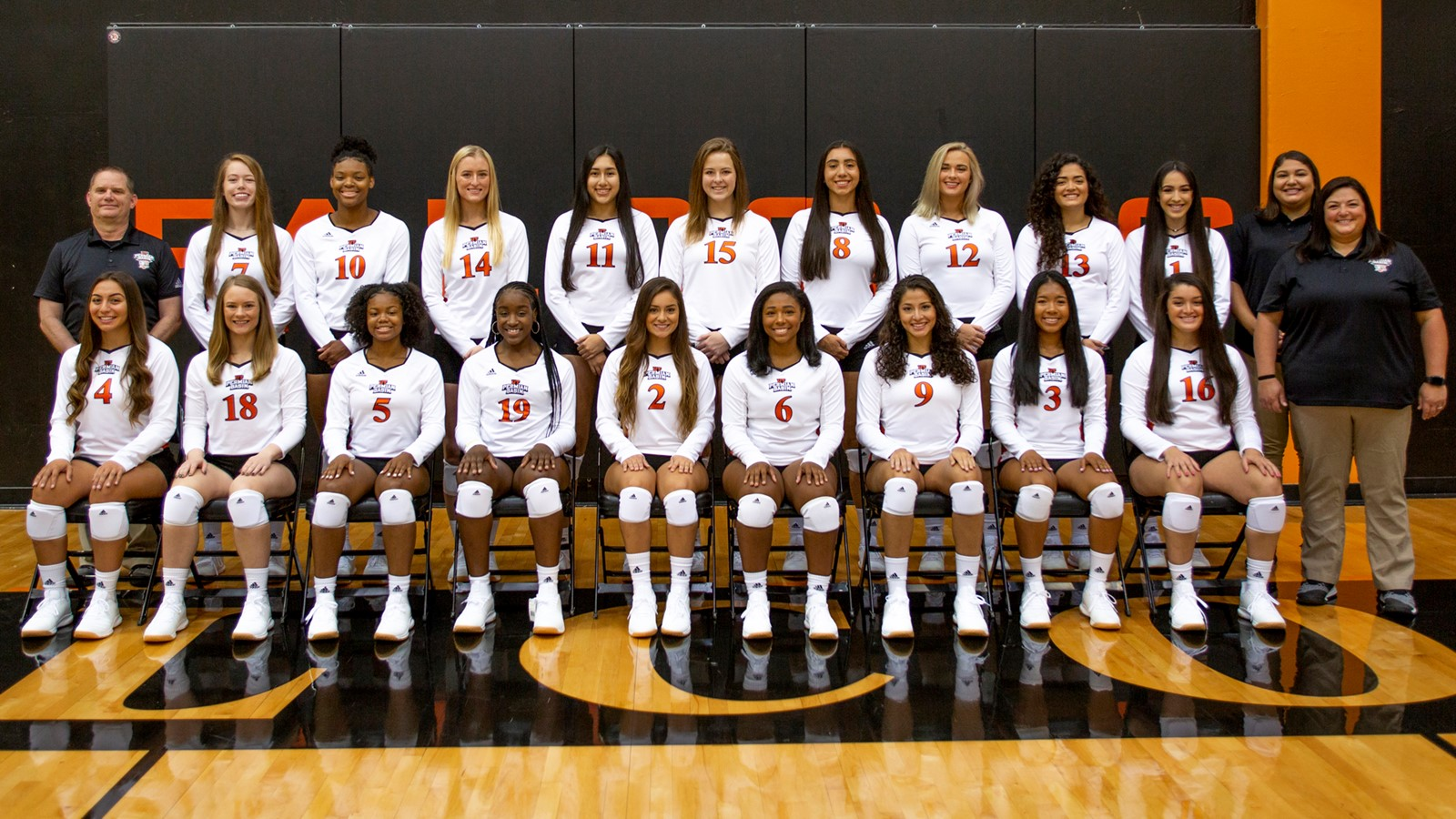 2019 Women S Volleyball Roster Utpb Athletics